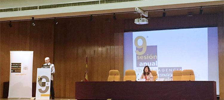 Crónica sobre la 9ª Sesión Anual Abierta de la AEPD