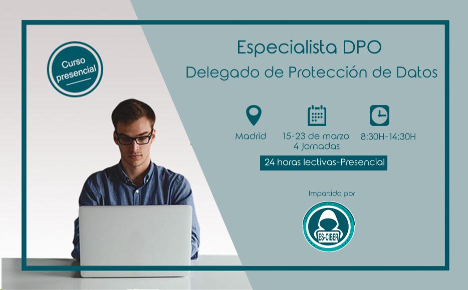 ES-CIBER lanza la segunda convocatoria presencial del curso Especialista DPO