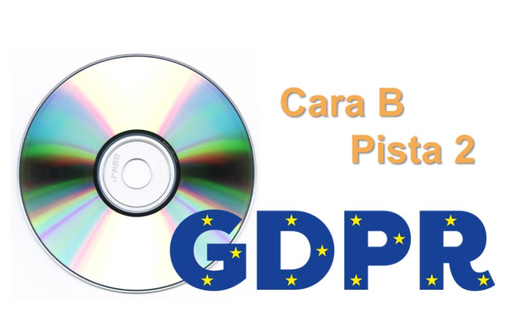 GDPR: Cara B / Pista 2