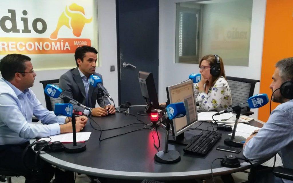 Áudea en Intereconomía Radio hablando sobre GDPR y Ciberseguridad