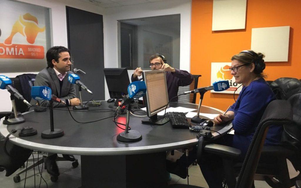 Áudea en la radio hablando sobre Ciberseguridad, Hacking y Concienciación