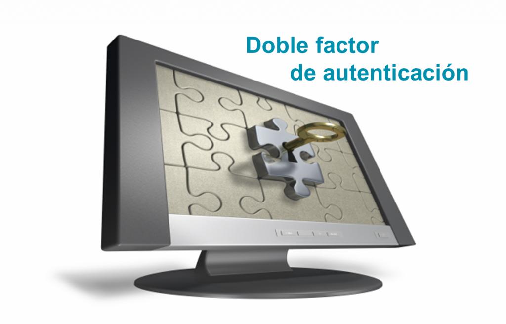 Doble factor de autenticación