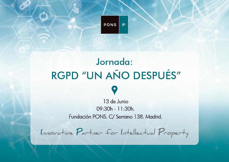 """Áudea participa en la jornada sobre RGPD: """"UN AÑO DESPUÉS"""" organizada por PONS IP"""